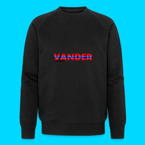 Vander in Red, white and blue. - Men's Organic Sweatshirt by Stanley & Stella