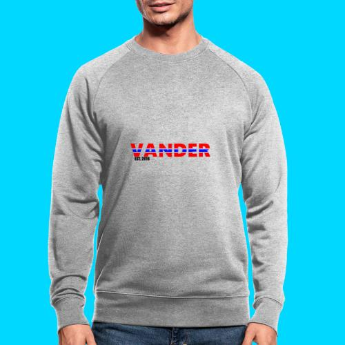 Vander in Red, white and blue. - Men's Organic Sweatshirt by Stanley & Stella