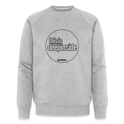 This is DEEPINSIDE Circle logo black - Men's Organic Sweatshirt by Stanley & Stella