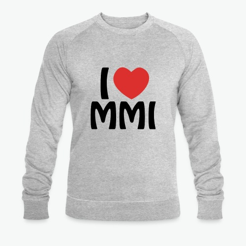 I love MMI - Sweat-shirt bio Stanley & Stella Homme
