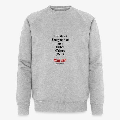 Limitless Imagination Zwart - Mannen bio sweatshirt van Stanley & Stella