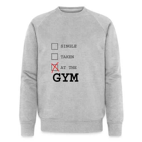 single taken gym - Mannen bio sweatshirt van Stanley & Stella