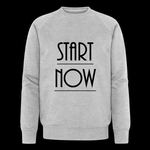 start now - Männer Bio-Sweatshirt von Stanley & Stella