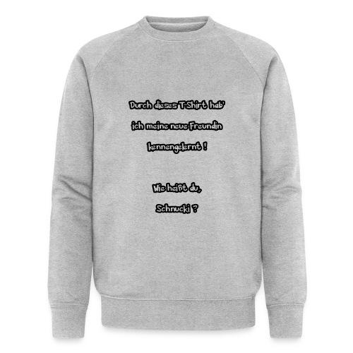 Schnucki - Männer Bio-Sweatshirt