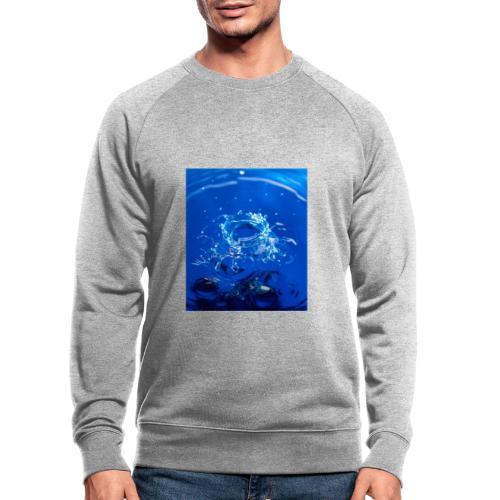 Krater - Männer Bio-Sweatshirt