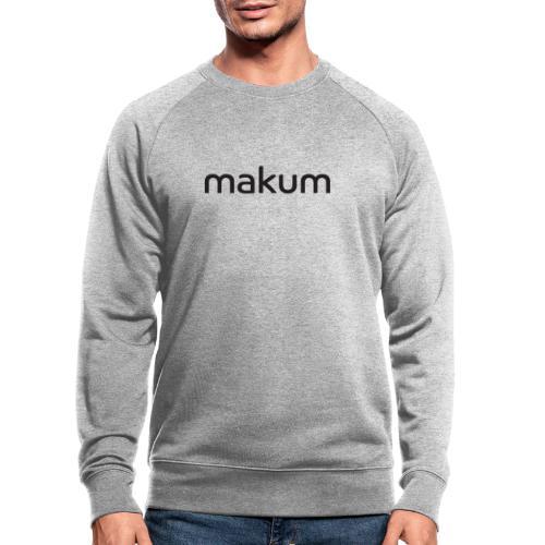 Makum teksti - Miesten luomucollegepaita