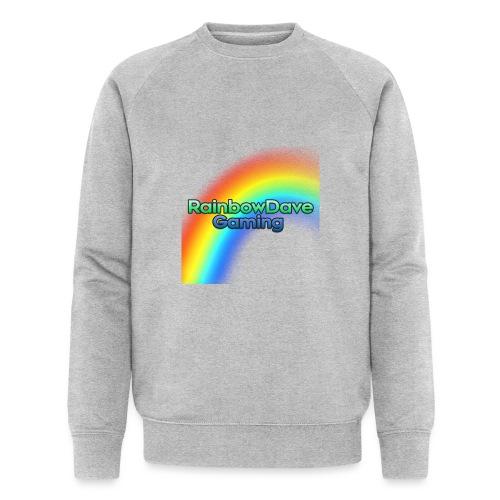 RainbowDave Gaming Logo - Men's Organic Sweatshirt by Stanley & Stella