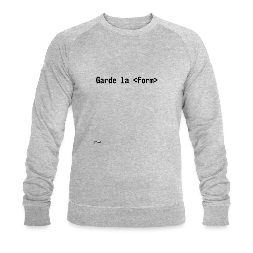 Design_dev_blague - Sweat-shirt bio Stanley & Stella Homme