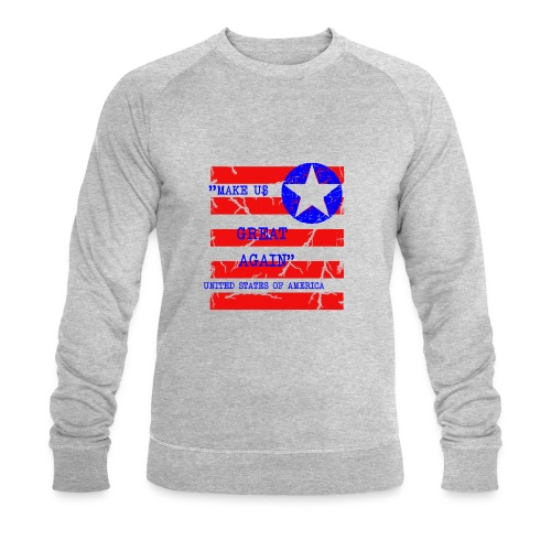 MAKE USG REAT AGAIN - Ekologisk sweatshirt herr från Stanley & Stella