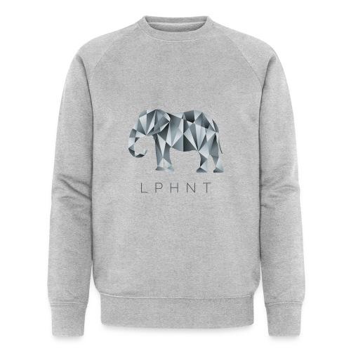 LPHNT - Elefant Polygon - Männer Bio-Sweatshirt von Stanley & Stella