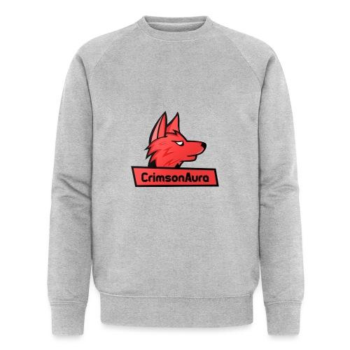 CrimsonAura Logo Merchandise - Men's Organic Sweatshirt