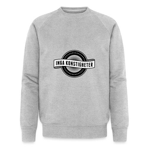 Inga Konstigheters klassiska logga (ljus) - Ekologisk sweatshirt herr från Stanley & Stella
