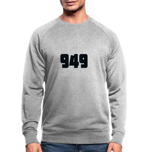 949black - Männer Bio-Sweatshirt