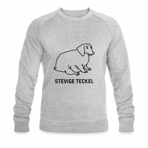 Stevige Teckel - Mannen bio sweatshirt van Stanley & Stella