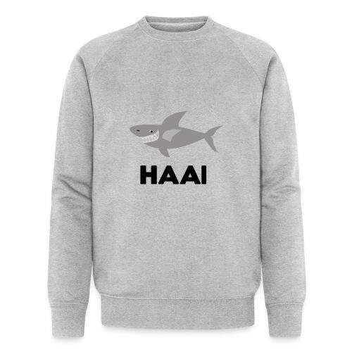 haai hallo hoi - Mannen bio sweatshirt van Stanley & Stella