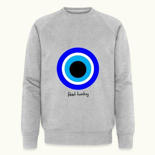 luck eye - Mannen bio sweatshirt van Stanley & Stella