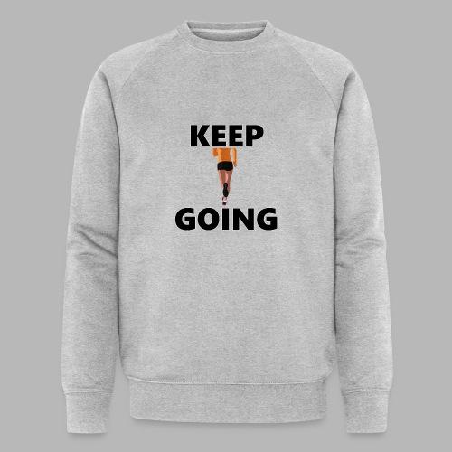 Keep going - Männer Bio-Sweatshirt von Stanley & Stella