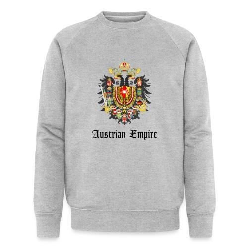 Austrian Eagle big - Männer Bio-Sweatshirt