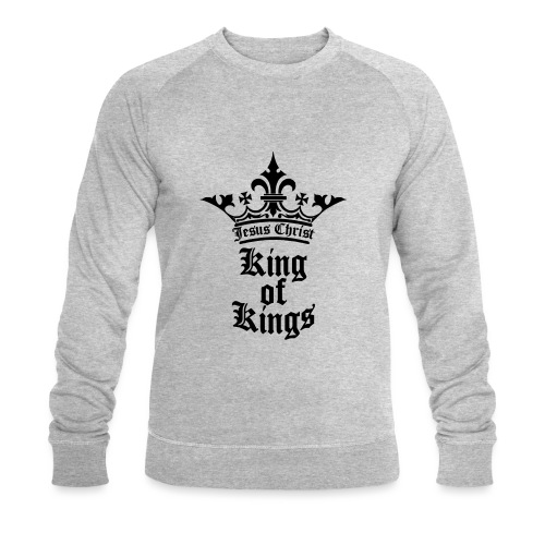 king_of_kings - Männer Bio-Sweatshirt von Stanley & Stella