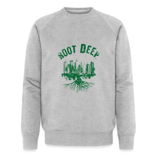 Root deep Urban grün - Männer Bio-Sweatshirt von Stanley & Stella