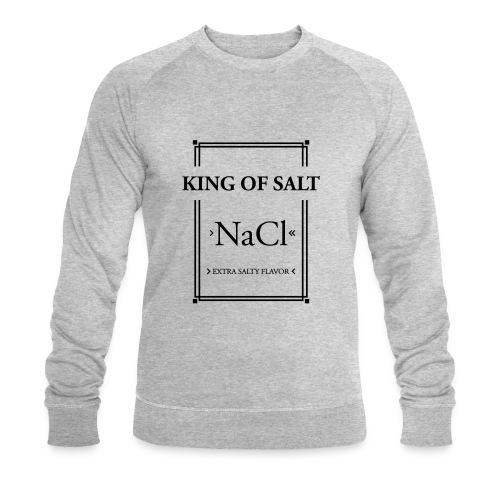 King of Salt - Männer Bio-Sweatshirt
