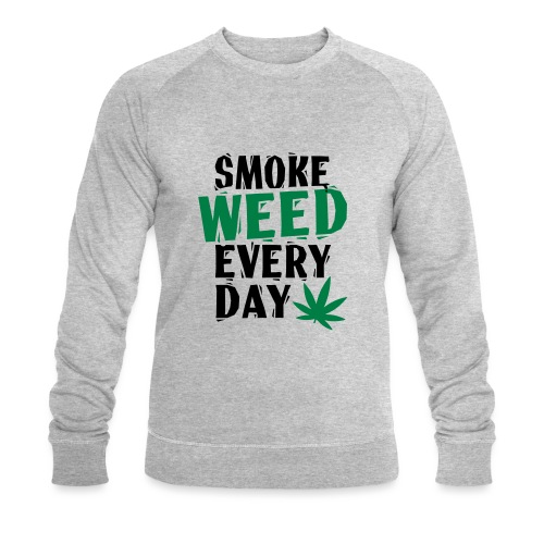 Smoke Weed Everyday Linovert - Sweat-shirt bio Stanley & Stella Homme