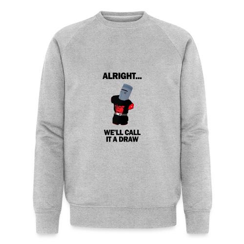 The Black Knight - Men's Organic Sweatshirt by Stanley & Stella