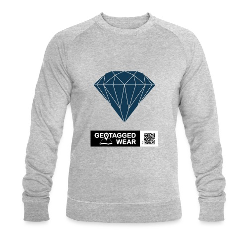 Men Diamond Pantone Sailor Blue - Männer Bio-Sweatshirt von Stanley & Stella