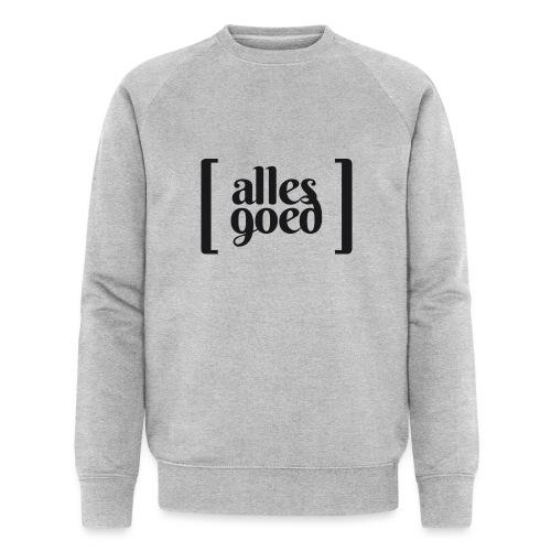 Alles Goed logo zwart - Mannen bio sweatshirt van Stanley & Stella