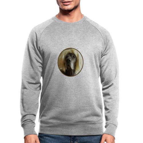 D O G G E mit Perücke - Männer Bio-Sweatshirt