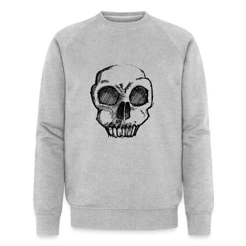 Skull sketch - Men's Organic Sweatshirt