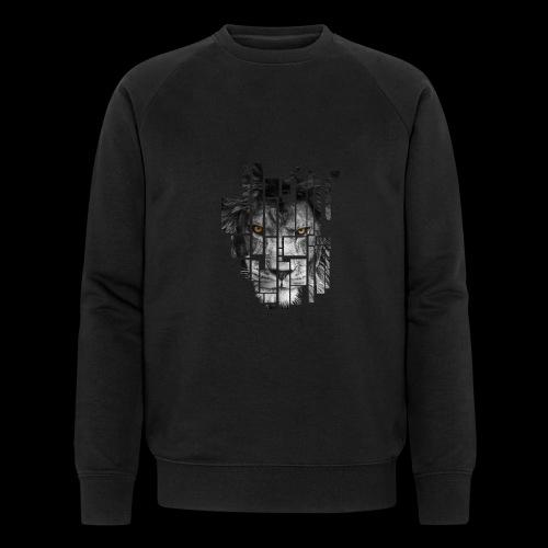 Pixel Lion Tattoo Inspire - Men's Organic Sweatshirt
