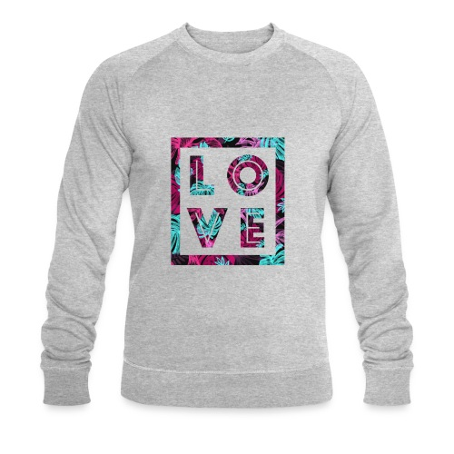LOVE - Ekologisk sweatshirt herr från Stanley & Stella