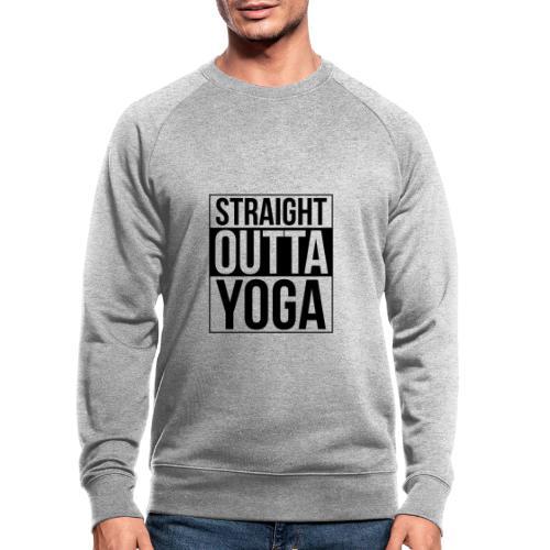 Straight Outta Yoga Design - Men's Organic Sweatshirt
