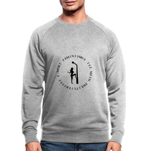 Feminismus - Männer Bio-Sweatshirt