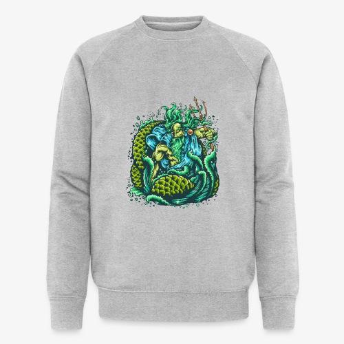 Dieu de la mer - Sweat-shirt bio Stanley & Stella Homme