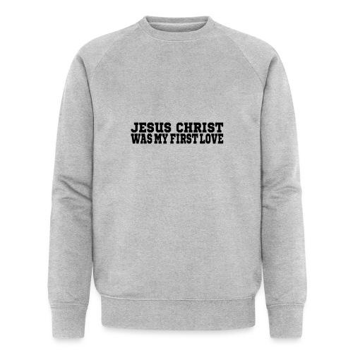 Jesus Christus Lieben - Männer Bio-Sweatshirt von Stanley & Stella