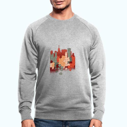 Puzzle fan - Men's Organic Sweatshirt