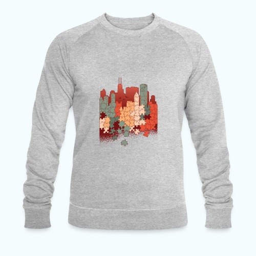 Puzzle fan - Men's Organic Sweatshirt by Stanley & Stella