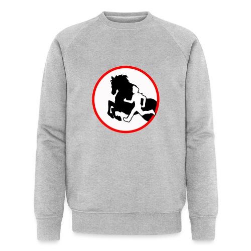 Horse Agility Logo - Männer Bio-Sweatshirt von Stanley & Stella