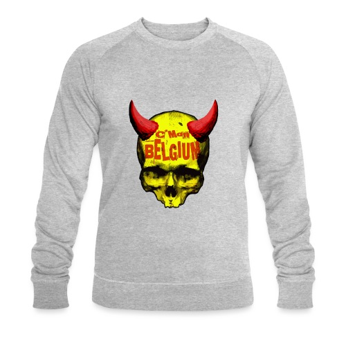 Belgium Devil 2 - Mannen bio sweatshirt van Stanley & Stella