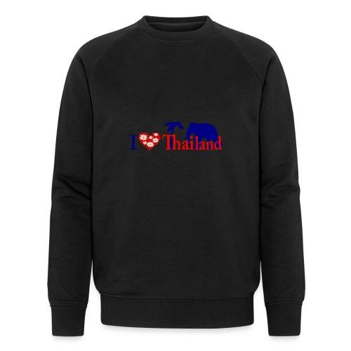 I love Thailand - Men's Organic Sweatshirt