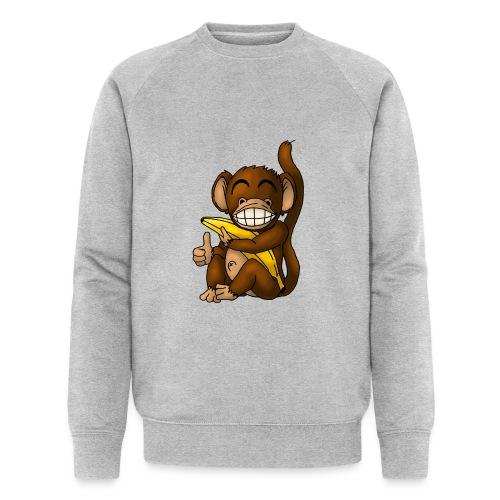 Super Fröhlicher Affe - Männer Bio-Sweatshirt von Stanley & Stella
