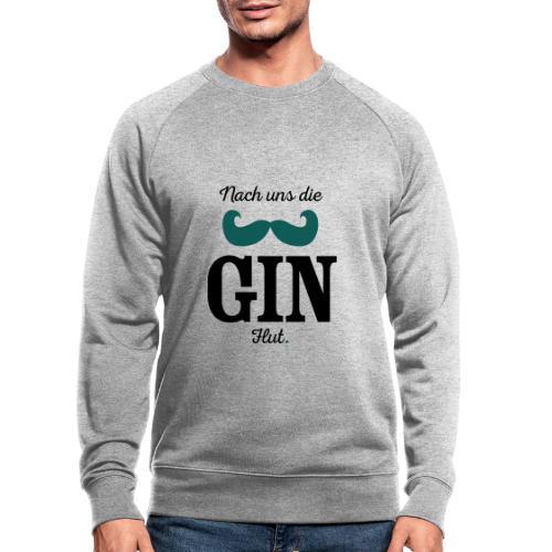 Nach uns die Gin-Flut - Männer Bio-Sweatshirt