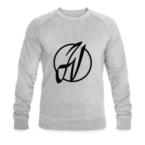 JV Guitars - logo noir - Sweat-shirt bio