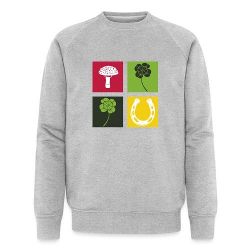 Just my luck Glück - Männer Bio-Sweatshirt von Stanley & Stella