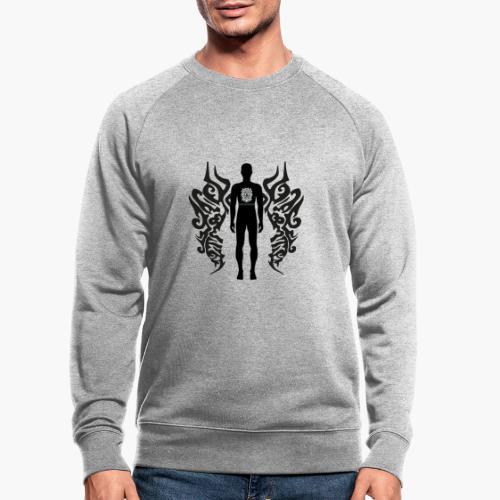 Houseology Original - Angel of Music (INVERSE) - Men's Organic Sweatshirt