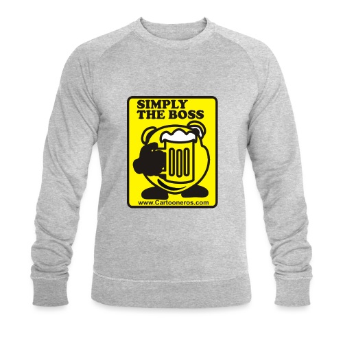 Simply the Boss - Men's Organic Sweatshirt by Stanley & Stella