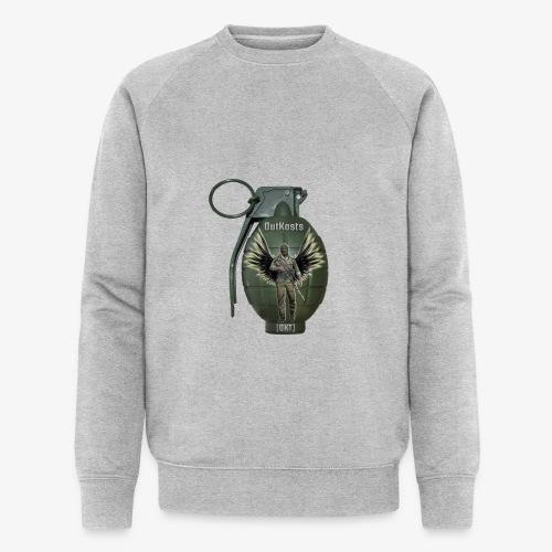 grenadearma3 png - Men's Organic Sweatshirt by Stanley & Stella