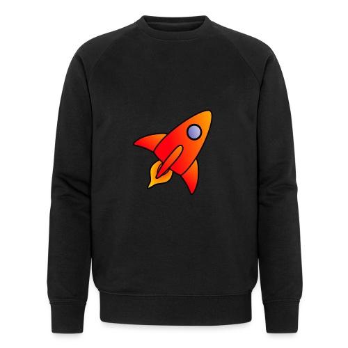 Red Rocket - Men's Organic Sweatshirt by Stanley & Stella